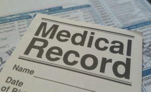a medical record