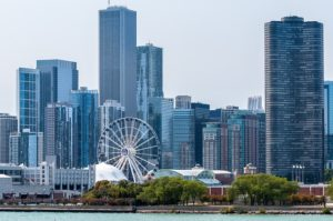 Chicago city view, immigration lawyer chicago