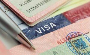 visa page