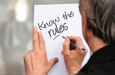 know the rules on paper